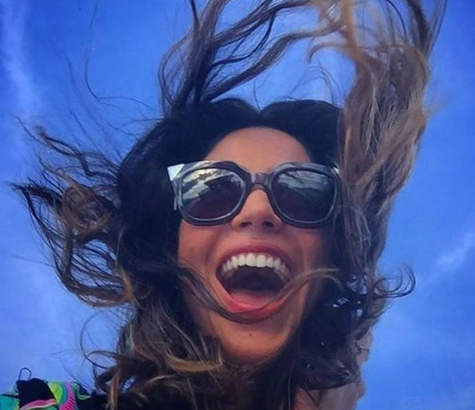 Carol Castro já está no interior da Bahia para gravar na pele de Iolanda em 'Velho Chico' (Foto: Arquivo Pessoal)