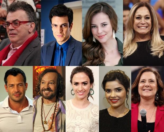 Estrelas de Amor à Vida vão estar na Pizza do Faustão (Foto: Domingão do Faustão / TV Globo)