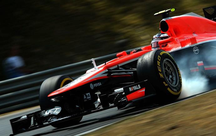 Max Chilton treino GP Hungria (Foto: Getty Images)