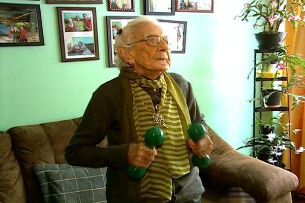 Vida e Saúde mostra rotina de idosas que não perdem a disposição (Foto: Reprodução, RBS TV)
