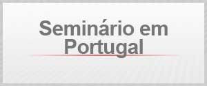Seminário em Portugal selo agenda (Foto: Editoria de Arte / G1)