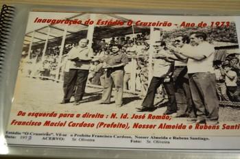 Inauguração do estádio Cruzeirão, no interior do Acre (Foto: Adelcimar Carvalho)