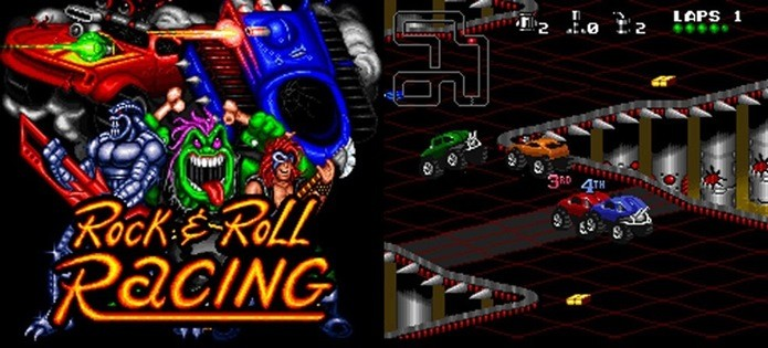 Rock & Roll Racing é um clássico que nunca envelhece (Foto: Reprodução / Blizzard)