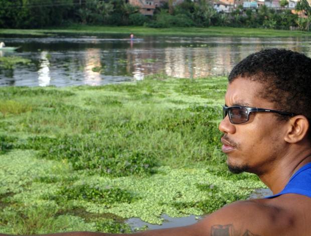 Técnico Figueroa Conceição observa atletas da canoagem de Ubaitaba