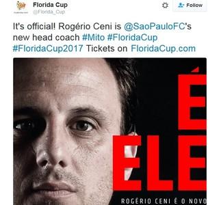 Ceni Técnico Florida Cup (Foto: Reprodução)