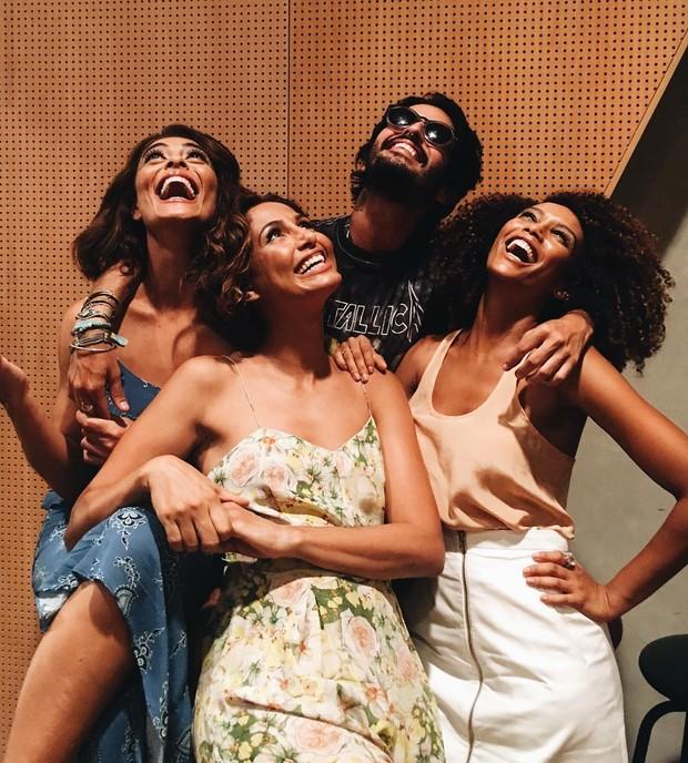 Juliana Paes, Camila Pitanga, Taís Araújo e Andre Nicolau (Foto: Reprodução/Instagram)