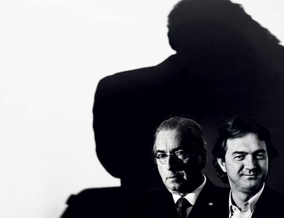Eduardo Cunha e Joesley Batista (Foto: DIDA SAMPAIO/ESTADÃO CONTEÚDO, Marcelo Min/Fotogarrafa / Editora Globo)