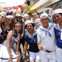 Turistas vieram da RMR à Terra dos Papangus (Alessandra Costa/ G1)
