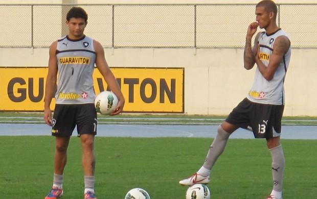 Elkeson treino Botafogo (Foto: Thales Soares / Globoesporte.com)