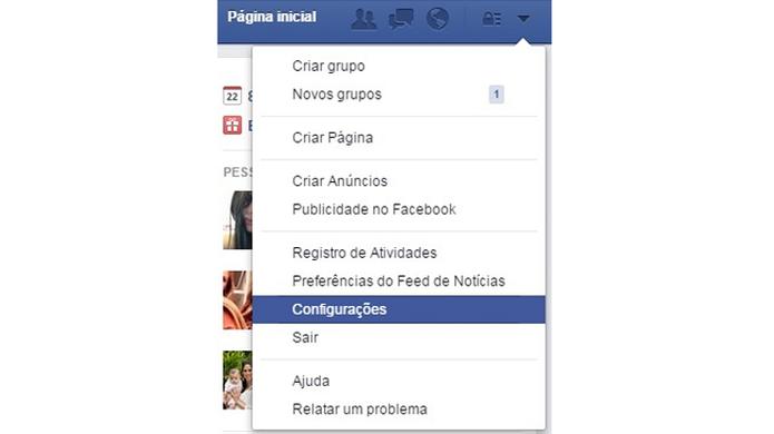 Configure a privacidade do seu Facebook (Foto: Reprodução/Laura Martins)