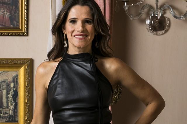 Ingrid Guimarães (Foto: Globo/Raquel Cunha)