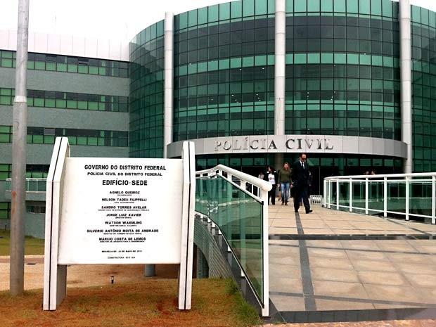 Fachada da nova sede da direção-geral da Polícia CIvil do Distrito Federal (Foto: Gabriella Julie/G1)