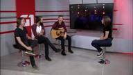 G1 entrevista banda brasiliense de rock Scalene