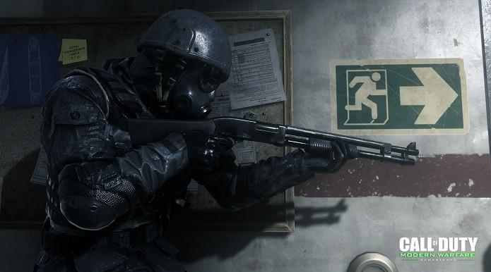 Call of Duty: Modern Warfare Remastered: use todos os tipos de armas (Foto: Reprodução/Victor Teixeira)