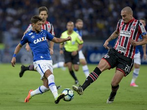 Arrascaeta; Cruzeiro x São Paulo (Foto: Washington Alves/Light Press)