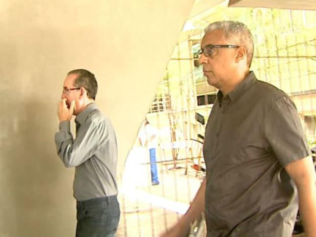 Sandro Rovani, ex-advogado do Sindicato dos Servidores de Ribeirão Preto, e Marco Antonio dos Santos, ex-superiente do Daerp em Ribeirão Preto (Foto: Reprodução/EPTV)