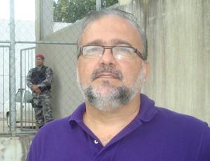 Sérgio Meira, ex vice presidente do Botafogo-PB (Foto: Renata Vasconcellos / Globoesporte.com)