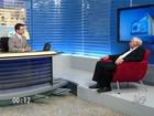 Raimundo Macedo é entrevistado pelo CETV no Cariri