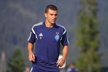 Junior Moraes Dínamo de Kiev (Foto: Divulgação)