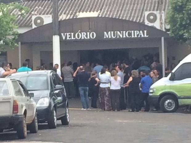 Crime chocou Itajobi; idosas são veladas juntas (Foto: Graciela Andrade/TV TEM)