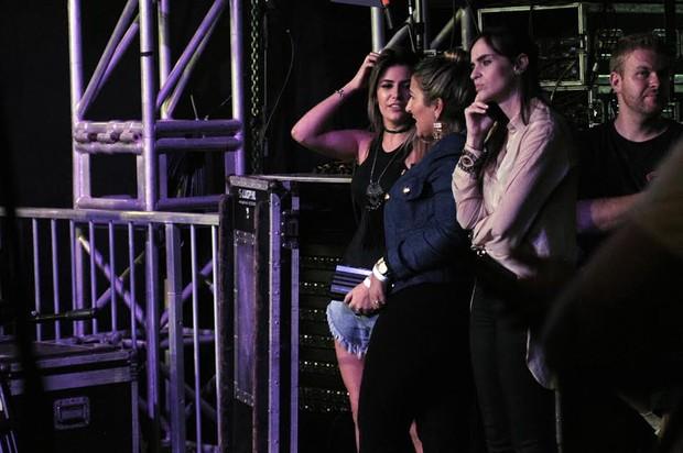 Jade Magalhães nos bastidores do show de Luan Santana em São Paulo (Foto: Marcos Amaral/AgNews)