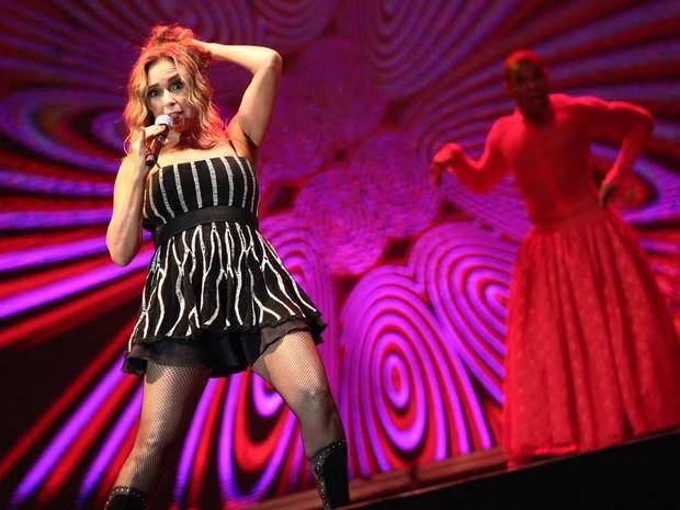 VIRADA CULTURAL - Sábado (22h30): Daniela Mercury se apresenta no Palco Júlio Prestes lembrando os 30 anos de axé music (Foto: Fábio Tito/G1)