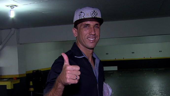 Thiago Ribeiro, atacante do Atlético-MG (Foto: Reprodução/TV Globo Minas)