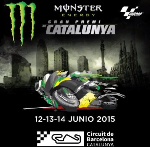 MotoGP Catalunha Poster