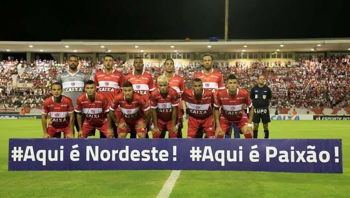 CRB, formação do jogo contra o Bahia (Foto: Ailton Cruz/ Gazeta de Alagoas)