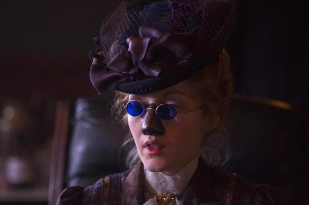Em 'The Knick', Abigail Alford perde o nariz por sífilis (Foto: Reprodução)