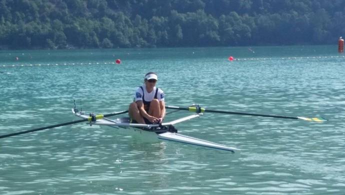 Fabiana Beltrame ficou em quarto lugar no Mundial (Foto: Reprodução/Facebook)