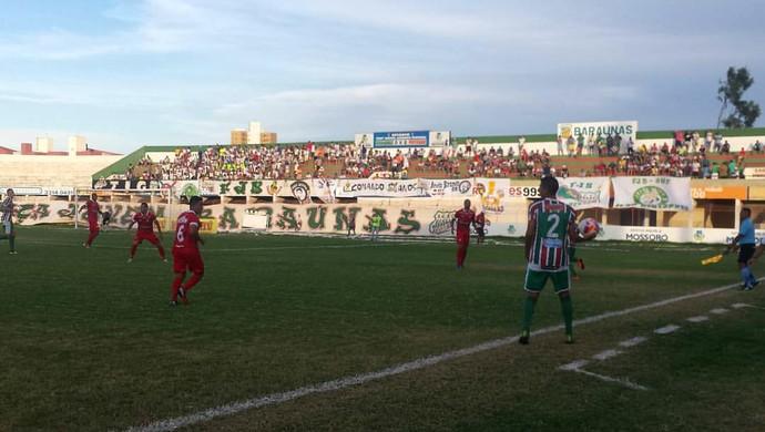Baraúnas x Potiguar de Mossoró Estádio Nogueirão (Foto: Yhan Victor/Divulgação)
