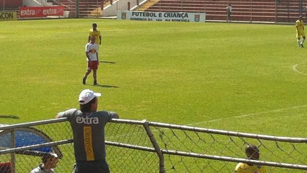 Fernando Diniz, técnico Audax (Foto: Zé Gonzalez)