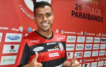 Meia Diego Torres é apresentado no Raposa e já fala em subir para Série C