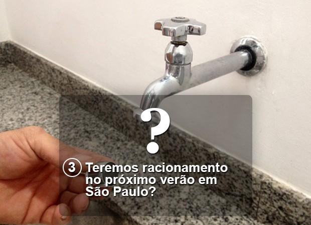 Pergunta 3 crise hídrica Versão Final (Foto: Arte/G1)
