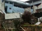 Muro de casa desaba depois de chuva em Mogi das Cruzes
