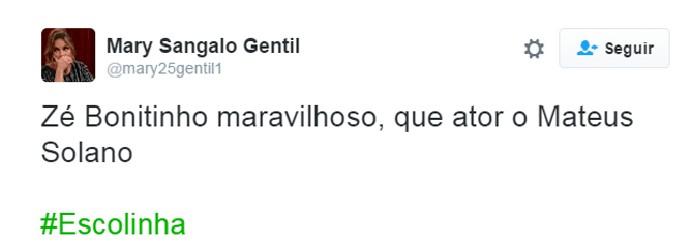 Bombou Escolinha - Zé Bonitinho (Foto: Reprodução Internet)