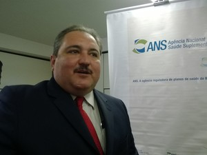 André Longo, diretor-presidente da ANS (Foto: Lilian Quaino/G1)