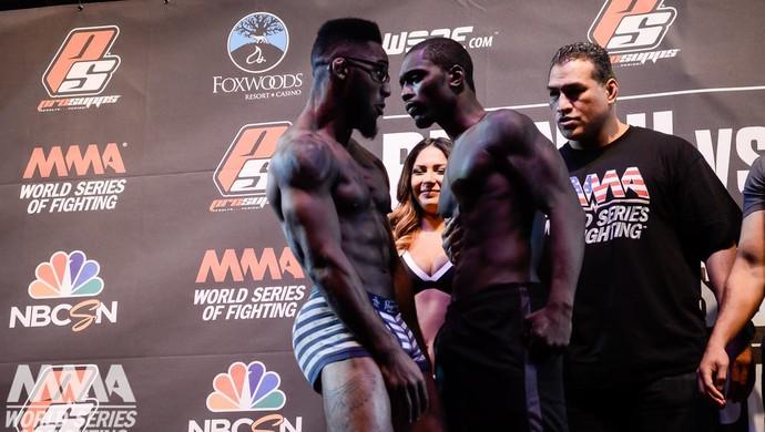 Ben Fodor Emmanuel Walo WSOF MMA (Foto: Reprodução/Facebook)