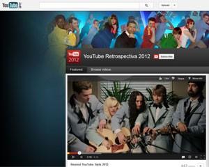 YouTube criou um clipe de retrospectiva de 2012 (Foto: Reprodução)