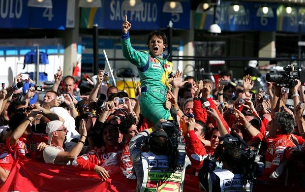 Felipe massa ferrari GP do Brasil 2006 (Foto: Agência Getty Images)