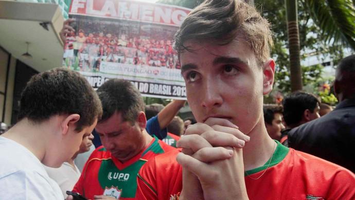 Julgamento torcedor Portuguesa (Foto: Ariel Subirá / Agência Estado)