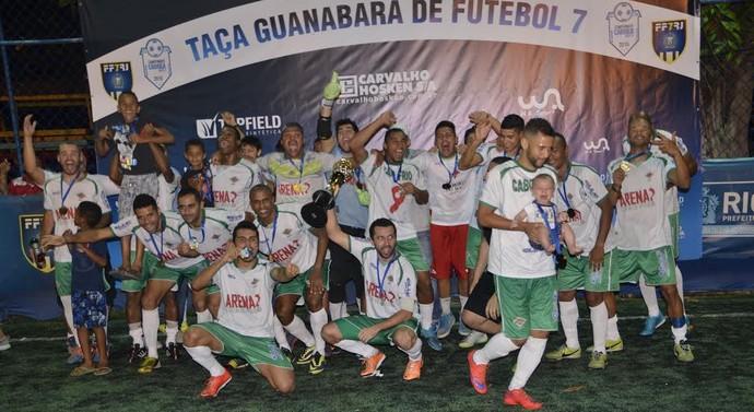 Cabofriense Flamengo final 1º turno carioca futebol 7 (Foto: Divulgação/RioF7)