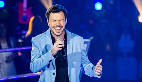 The Voice Gustavo Trebien (Foto: Isabella Pinheiro/TV Globo)