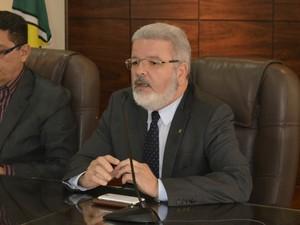 Promotor de Justiça Moisés Rivaldo vai se afastar do MP para concorrer ao governo do Amapá (Foto: Abinoan Santiago/G1)