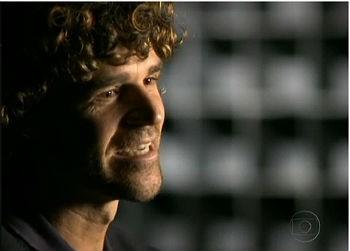Gustavo Kurten no Fantástico (Foto: Reprodução: TV Globo)