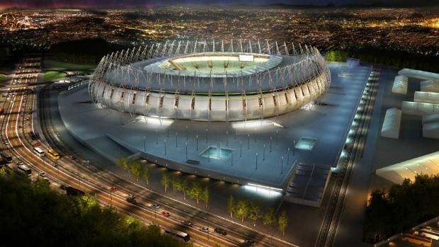Imagem em 3D da Arena Castelão (Foto: Vigliecca&Associados)