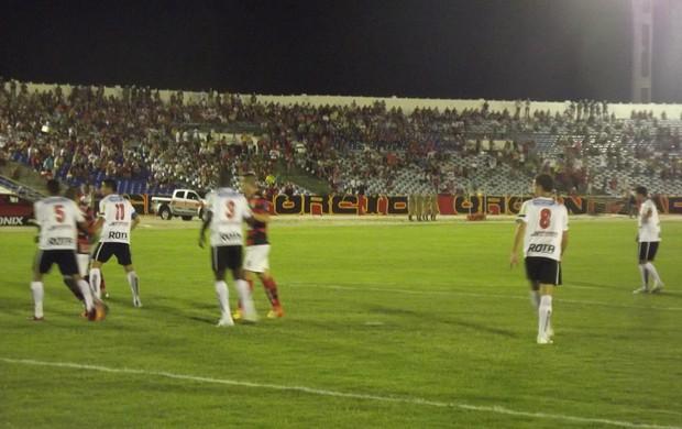 campinense, botafogo-pb, campeonato paraibano (Foto: Silas Batista / Globoesporte.com/pb)