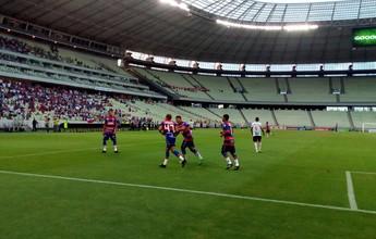 Em jogo elétrico, Fortaleza e Guarasol empatam e Leão avança à final