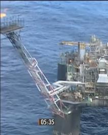 Retração de 5% na produção de petróleo